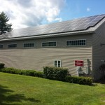 Derryfield Benson Maintenance Building – 13.44kW Array – Kingston, NH