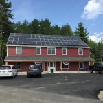 Storage Barn – 20.16kW Array – Dover, NH